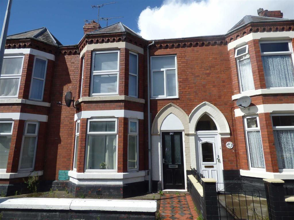 4 Bedrooms Terraced House for sale in Walthall Street, Crewe