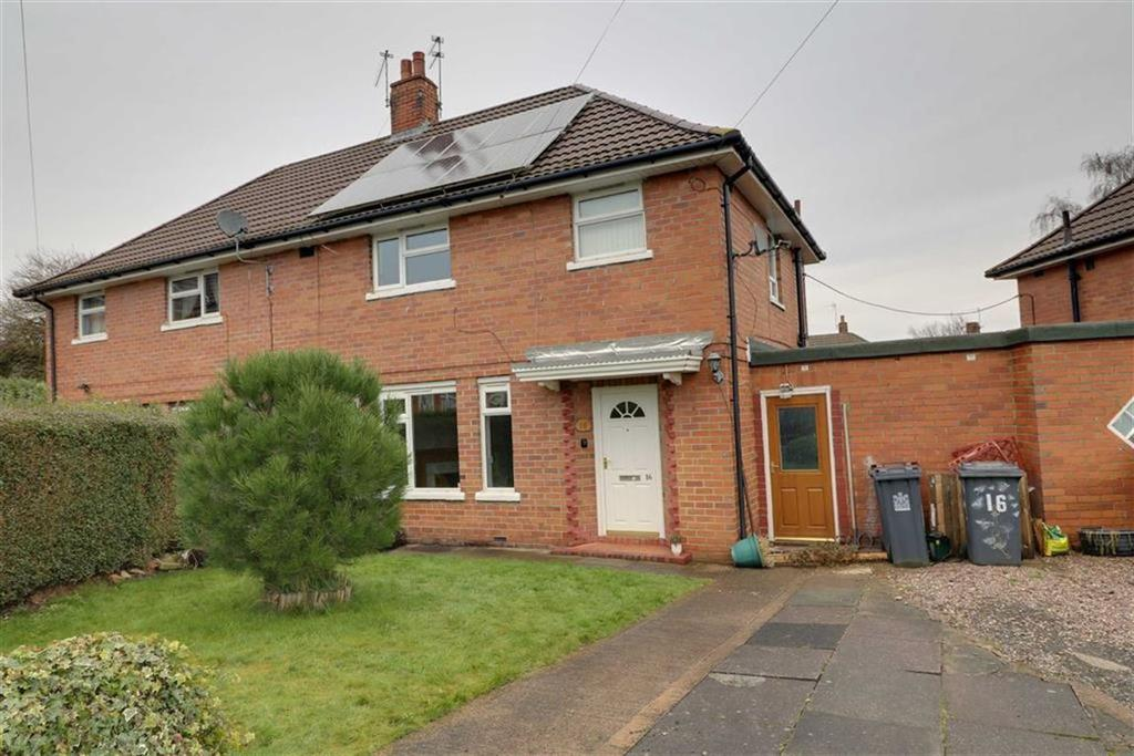 3 Bedrooms Semi Detached House for sale in Hollins Crescent, Talke, Stoke-on-Trent