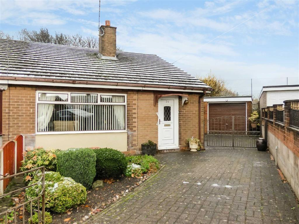 2 Bedrooms Semi Detached Bungalow for sale in Poplar Drive, Kidsgrove, Stoke-on-Trent