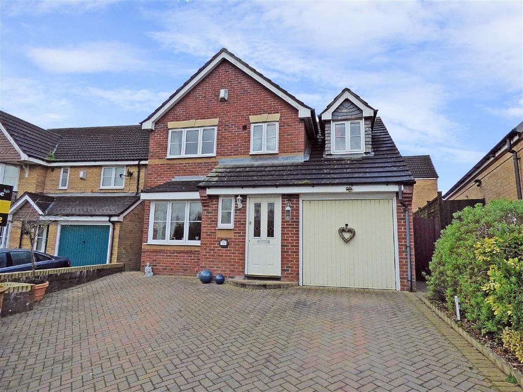 3 Bedrooms Detached House for sale in Blackbird Way, Packmoor, Stoke-on-Trent