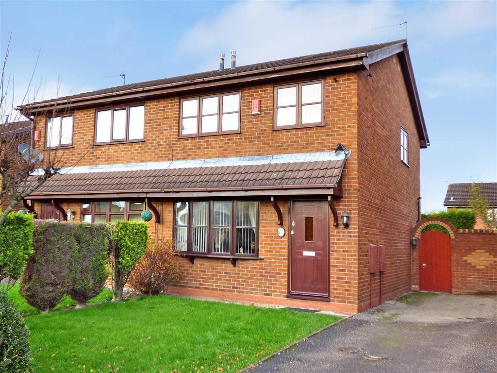 3 Bedrooms Semi Detached House for sale in Corina Way, Meir Hay