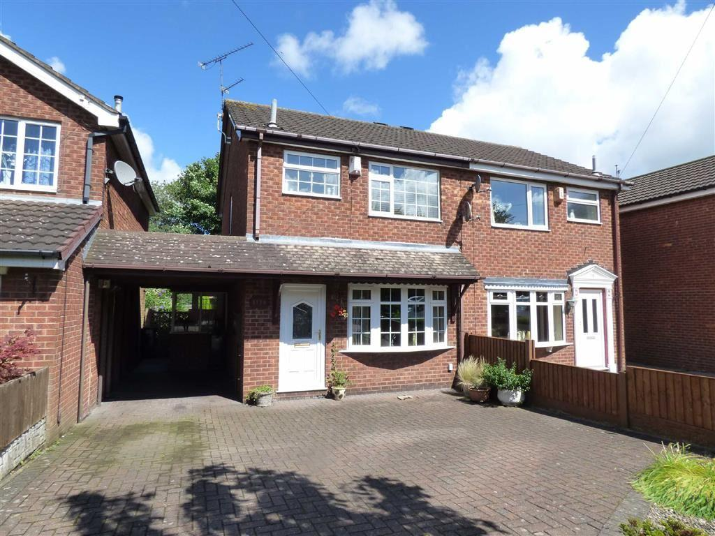 3 Bedrooms Semi Detached House for sale in Uttoxeter Road, Blythe Bridge, Stoke-on-Trent