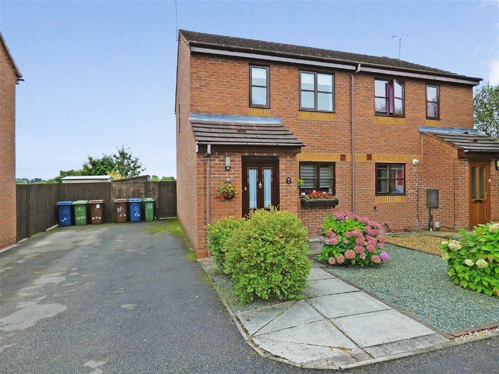 2 Bedrooms Semi Detached House for sale in Brooklime Gardens, Stafford