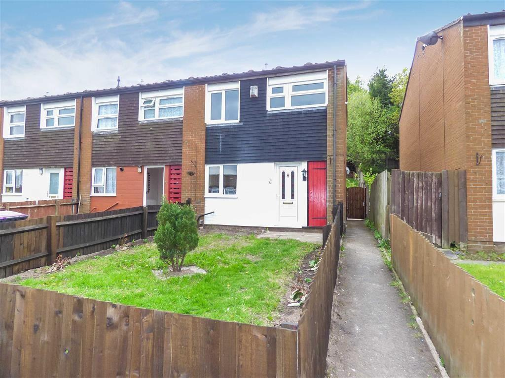3 Bedrooms End Of Terrace House for sale in Cedar Close, Overdale, Telford, Shropshire