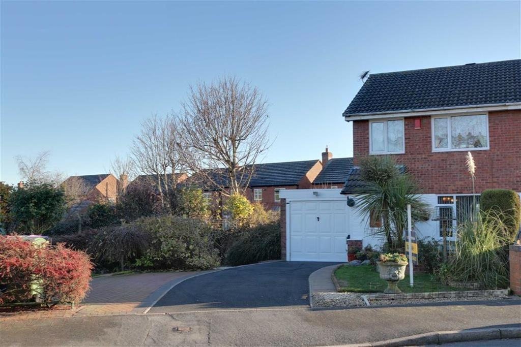 3 Bedrooms Semi Detached House for sale in Walker Crescent, St Georges, Telford, Shropshire