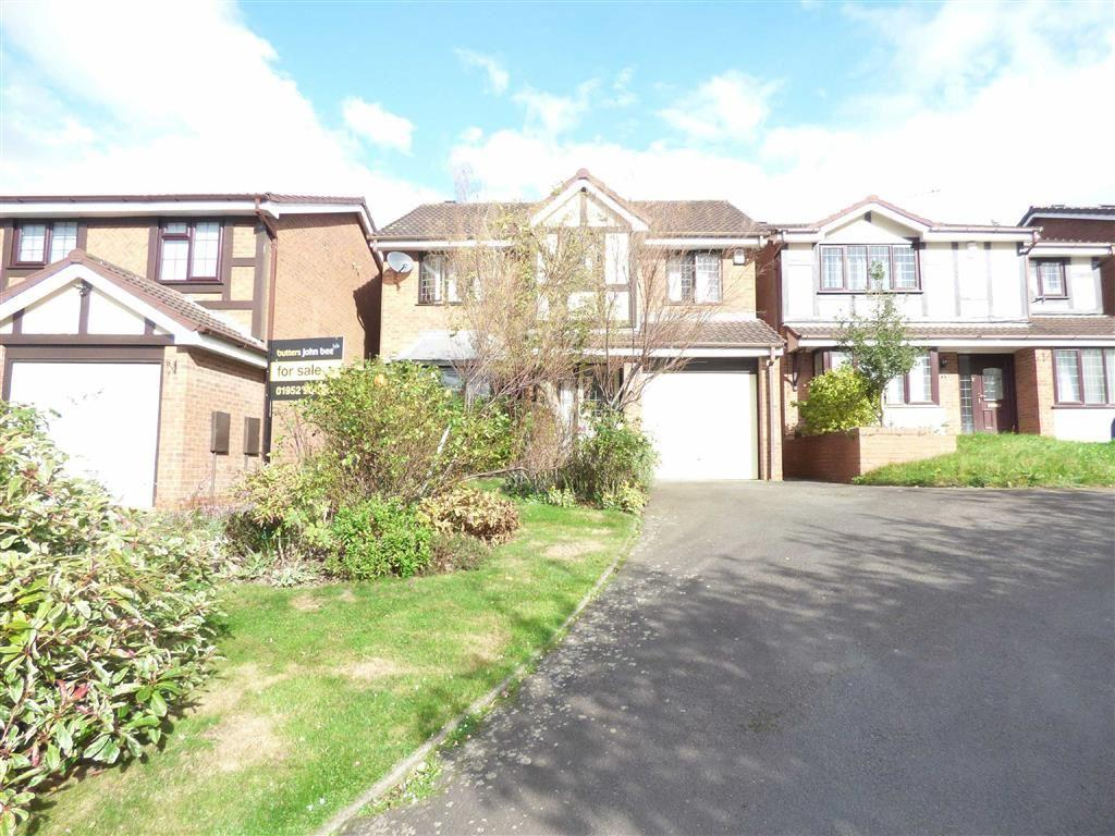 4 Bedrooms Detached House for sale in Buttercup Close, Stirchley, Telford, Shropshire