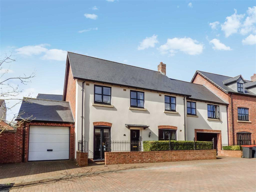 5 Bedrooms Link Detached House for sale in Yewtree Moor, Lawley Village, Telford, Shropshire