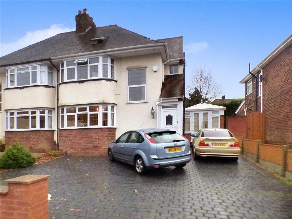 4 Bedrooms Semi Detached House for sale in Westminster Avenue, Wolverhampton