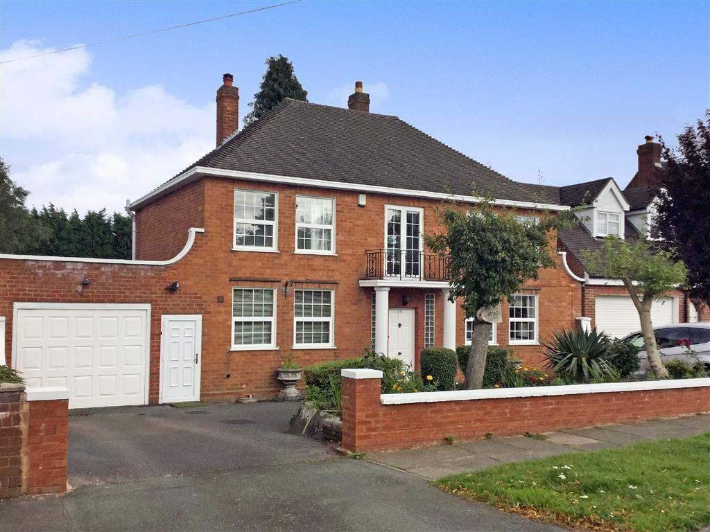 4 Bedrooms Detached House for sale in Ednam Road, Wolverhampton