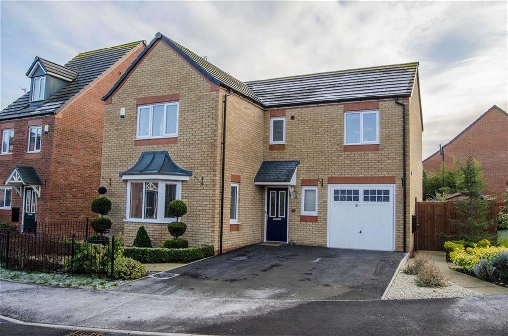 4 Bedrooms Detached House for sale in Poppy Field Drive, Penyffordd, Flintshire, Chester, Flintshire