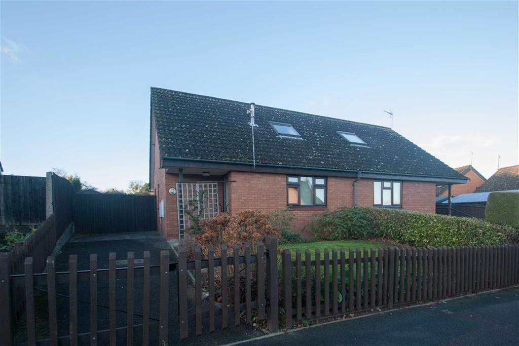 2 Bedrooms Semi Detached Bungalow for sale in Field Grove View, Victoria Park, Hereford