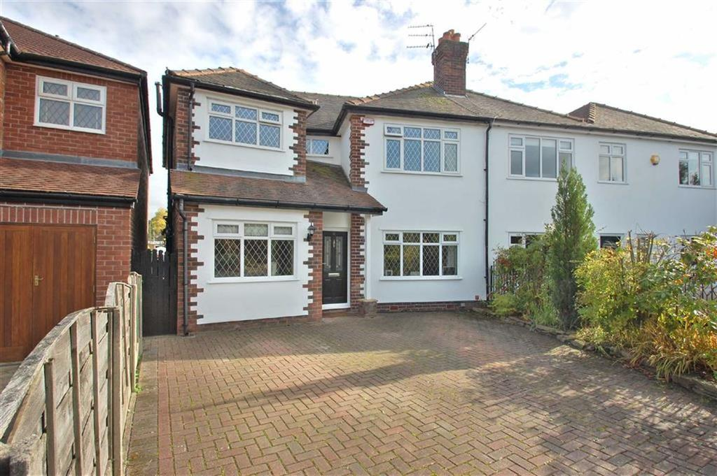 4 Bedrooms Semi Detached House for sale in Birchway, Bramhall, Cheshire