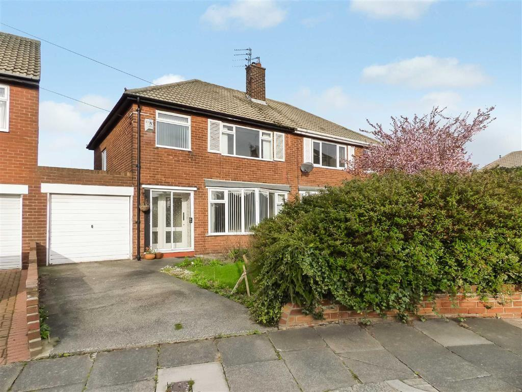 3 Bedrooms Semi Detached House for rent in Neasdon Crescent, Tynemouth