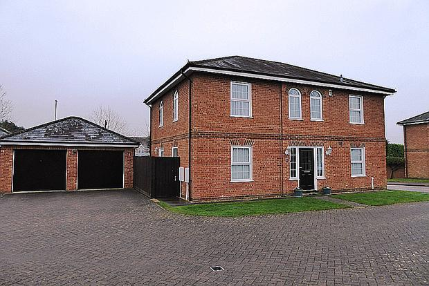 4 Bedrooms Detached House for sale in Edwardian Close, Wootton, Northampton, NN4
