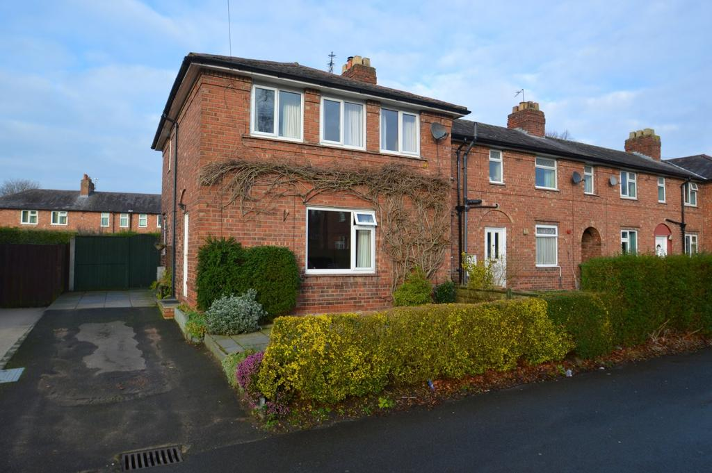 3 Bedrooms End Of Terrace House for sale in Racefield Road, Knutsford
