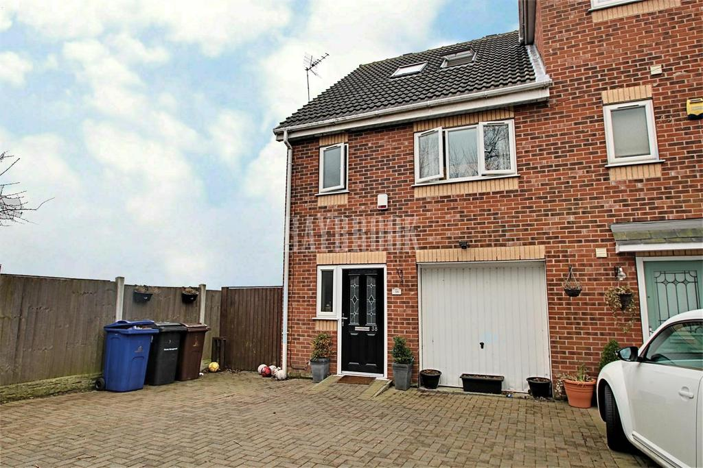 3 Bedrooms End Of Terrace House for sale in Barnburgh Court, Goldthorpe