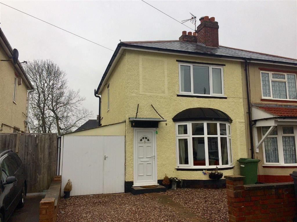 2 Bedrooms Semi Detached House for sale in Hardon Road, Wolverhampton