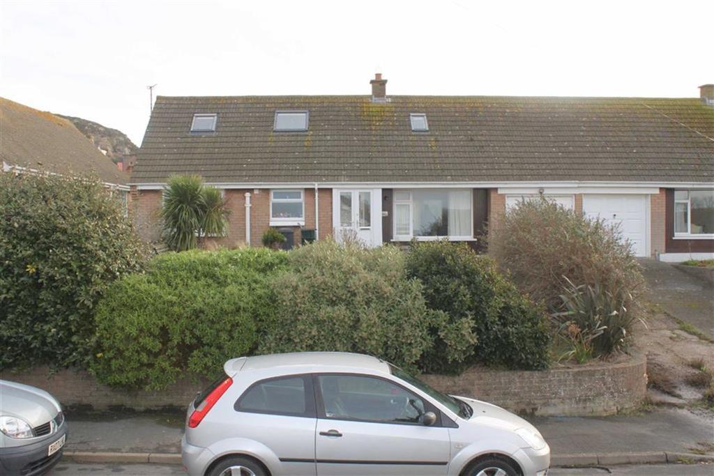 2 Bedrooms Detached Bungalow for sale in Rockfield Drive, Llanrhos, Llandudno, Conwy
