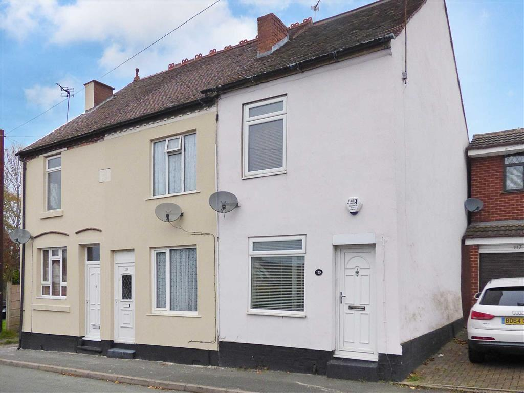 2 Bedrooms End Of Terrace House for sale in Bank Street, Cannock, Staffordshire