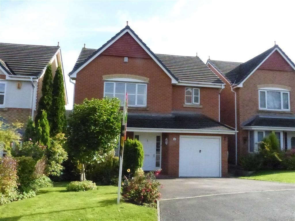 4 Bedrooms Detached House for sale in Trafalgar Close, Kingsmead, Northwich, Cheshire