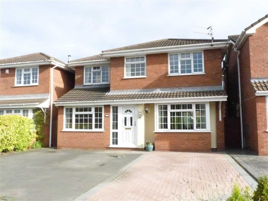 4 Bedrooms Detached House for sale in Lavender Drive, Rudheath, Cheshire