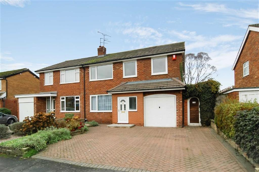 4 Bedrooms Semi Detached House for sale in Grosvenor Road, West Heath, Congleton
