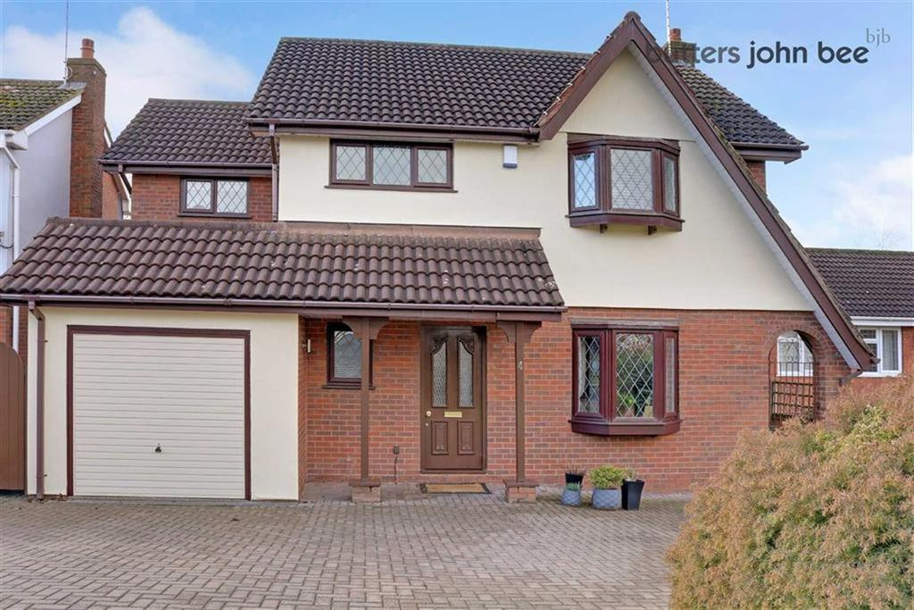 4 Bedrooms Detached House for sale in Lyndhurst Grove, Stone, Staffordshire