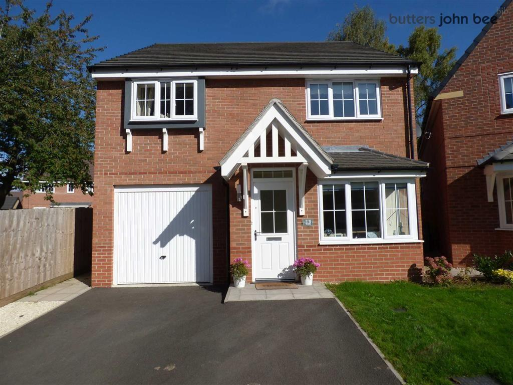 4 Bedrooms Detached House for sale in Hayeswater Grove, Stone, Staffordshire
