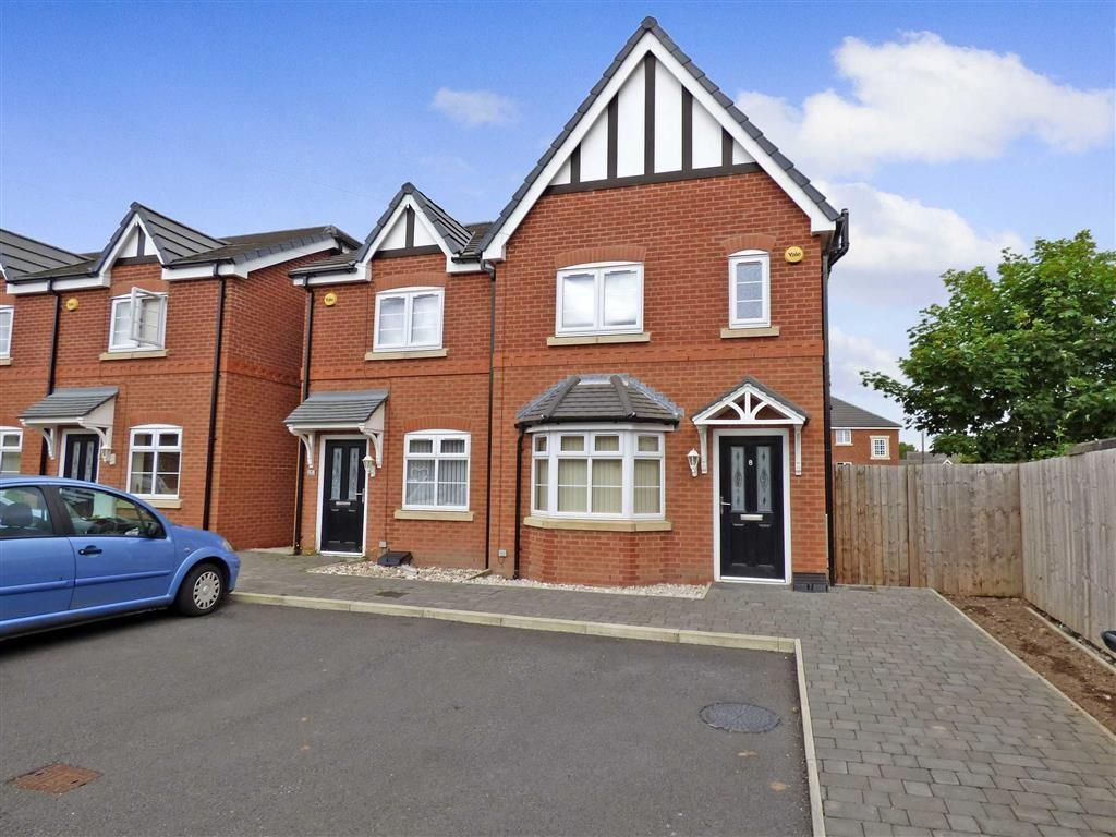 3 Bedrooms Semi Detached House for sale in Pimlott Drive, Winsford, Cheshire