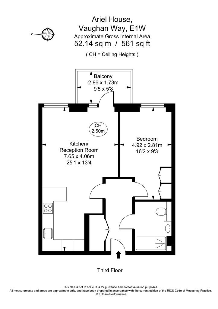 Ariel House, 144 Vaughan Way, E1W 1 bed apartment - £2,578 pcm (£595 on christmas story house floor plan, gatsby house floor plan, barbie house floor plan, incredibles house floor plan, frodo baggins house floor plan,
