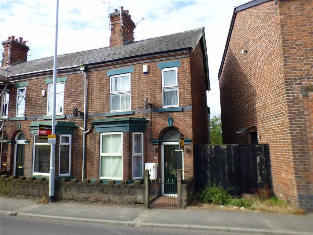 2 Bedrooms End Of Terrace House for sale in Crewe Road, Wheelock, Sandbach