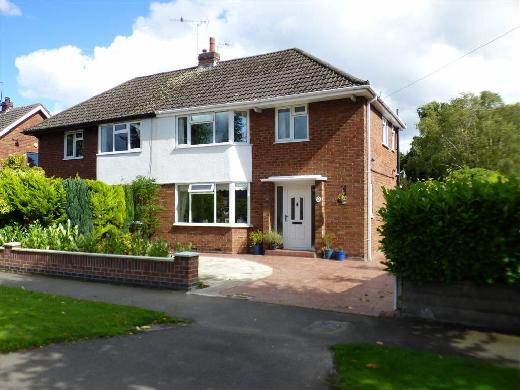 3 Bedrooms Semi Detached House for sale in Belmont Avenue, Sandbach