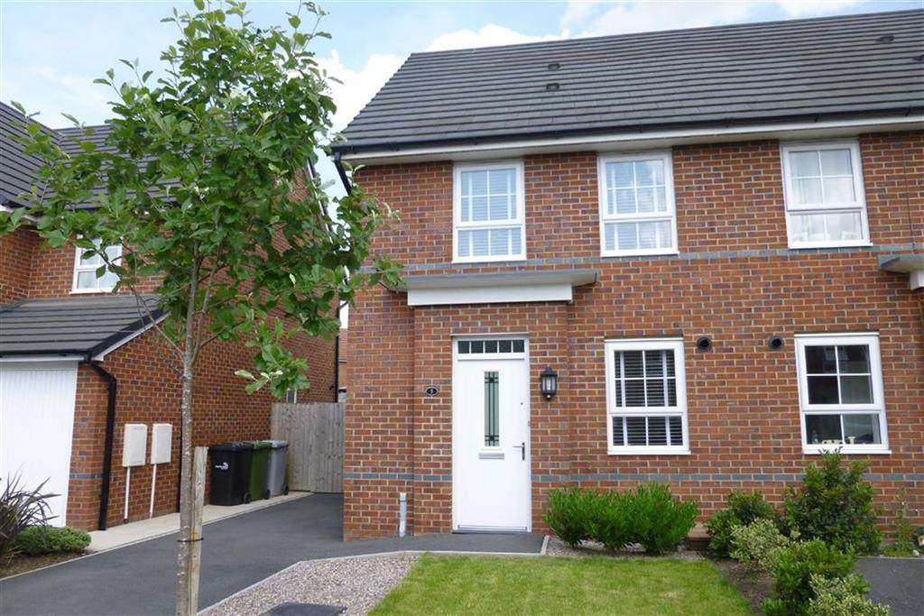 3 Bedrooms Semi Detached House for sale in Peter Fletcher Crescent, Elworth, Sandbach