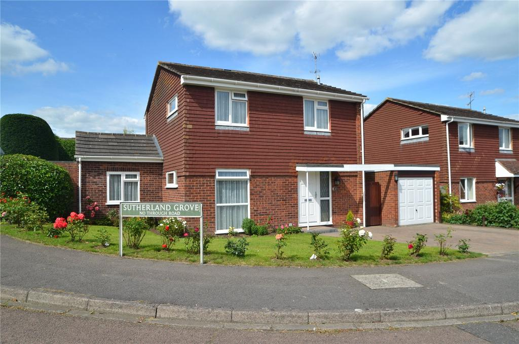 3 Bedrooms Detached House for sale in Sutherland Grove, Calcot, Reading, Berkshire, RG31