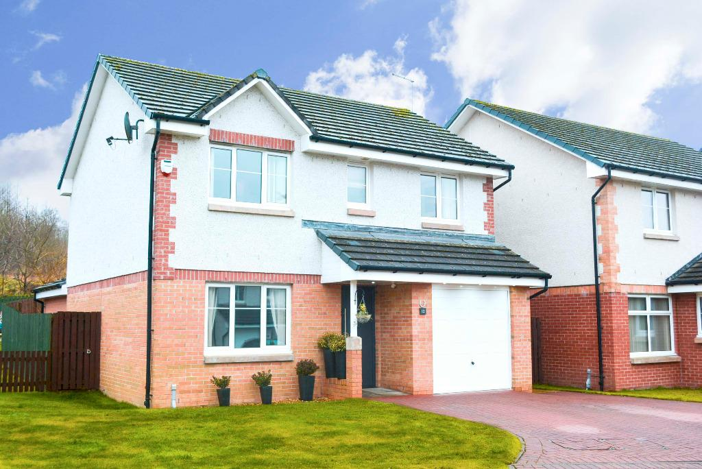 4 Bedrooms Detached House for sale in Henderson Place, Plean, Stirling, FK7 8GB