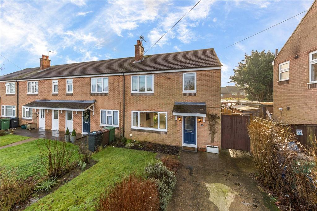3 Bedrooms End Of Terrace House for sale in Nelson Avenue, St. Albans, Hertfordshire
