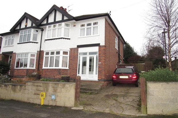 3 Bedrooms Semi Detached House for sale in Exton Road, Sherwood, Nottingham, NG5