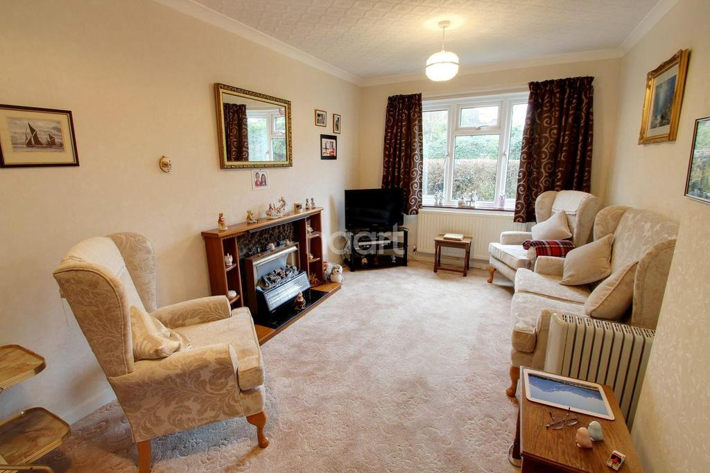 2 Bedrooms Bungalow for sale in The Poplars, Leicester
