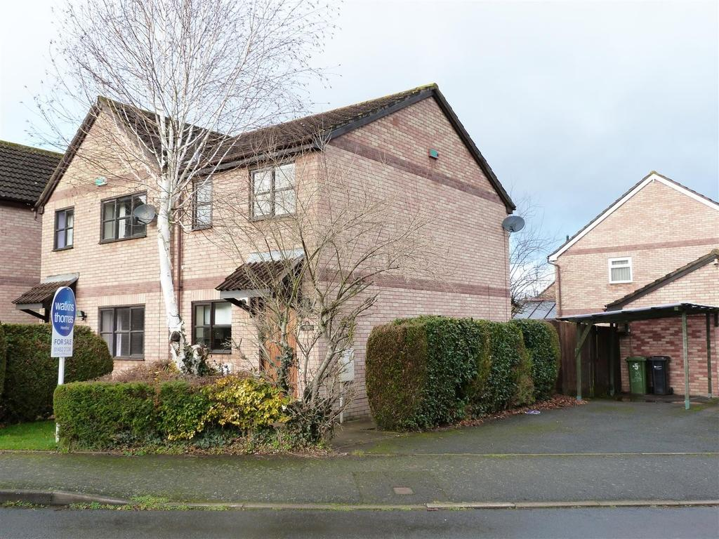 2 Bedrooms Semi Detached House for sale in Sydwall Road, Belmont, Hereford, HR2