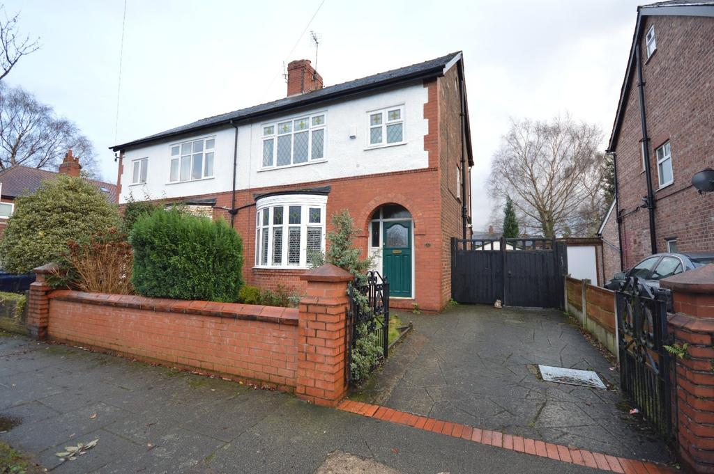 4 Bedrooms Semi Detached House for sale in Warwick Road, Heaton Moor, Stockport
