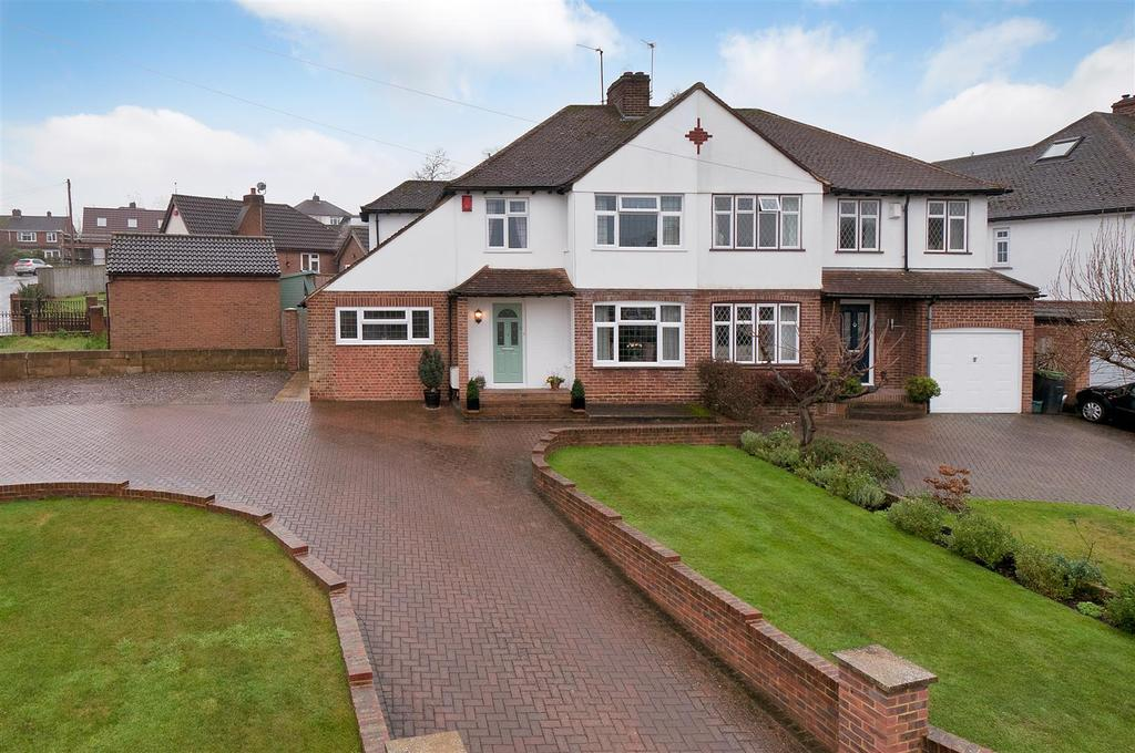 3 Bedrooms Semi Detached House for sale in Fernleigh Rise, Ditton, Aylesford