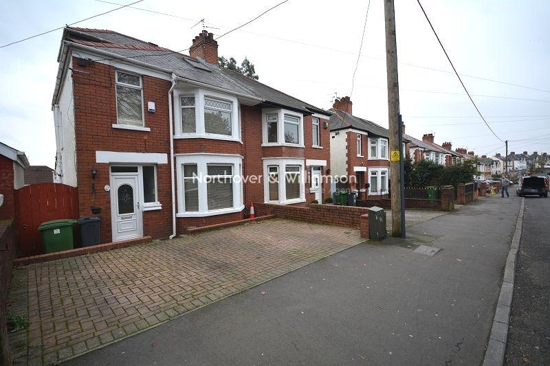4 Bedrooms Semi Detached House for sale in Church Road, Rumney, Cardiff, Cardiff. CF3