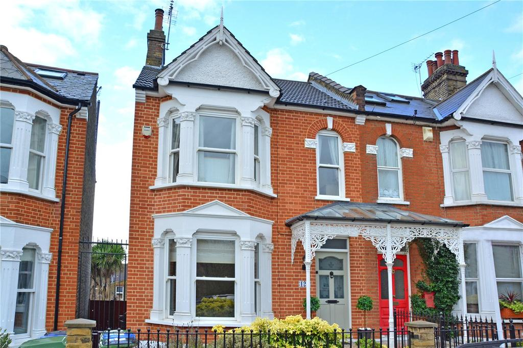 3 Bedrooms Semi Detached House for sale in Kinveachy Gardens, Charlton, London, SE7