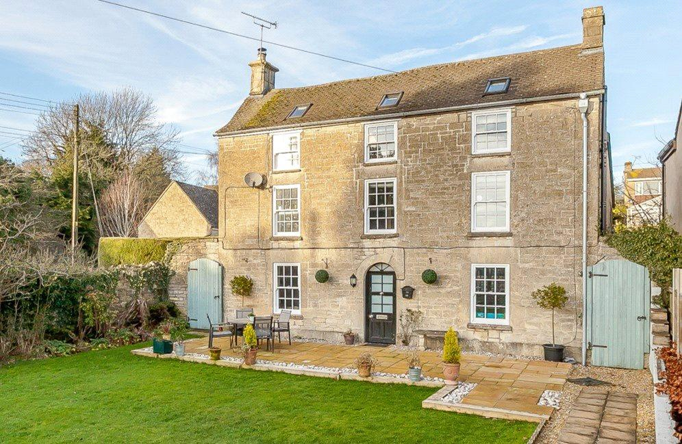 4 Bedrooms Detached House for sale in Abnash, Chalford Hill, Stroud, Gloucestershire