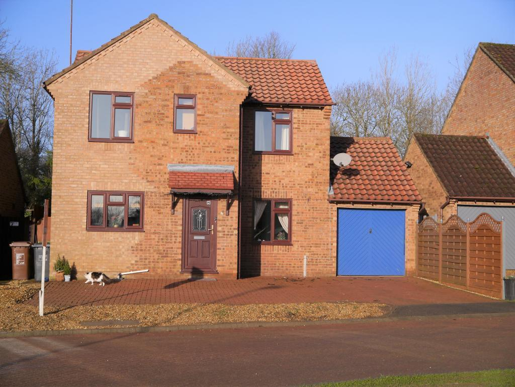 4 Bedrooms Detached House for sale in Little Meadow, Great Oakley, Corby, NN18 8JP