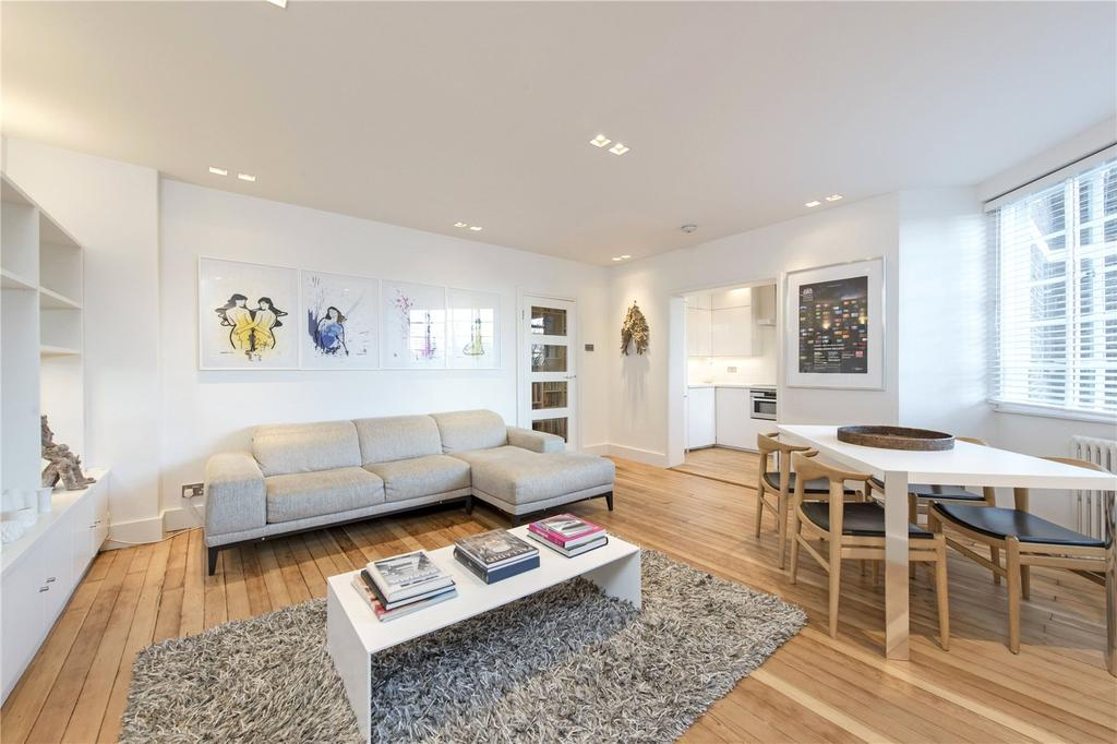 2 Bedrooms Flat for sale in Hightrees House, Nightingale Lane, London, SW12