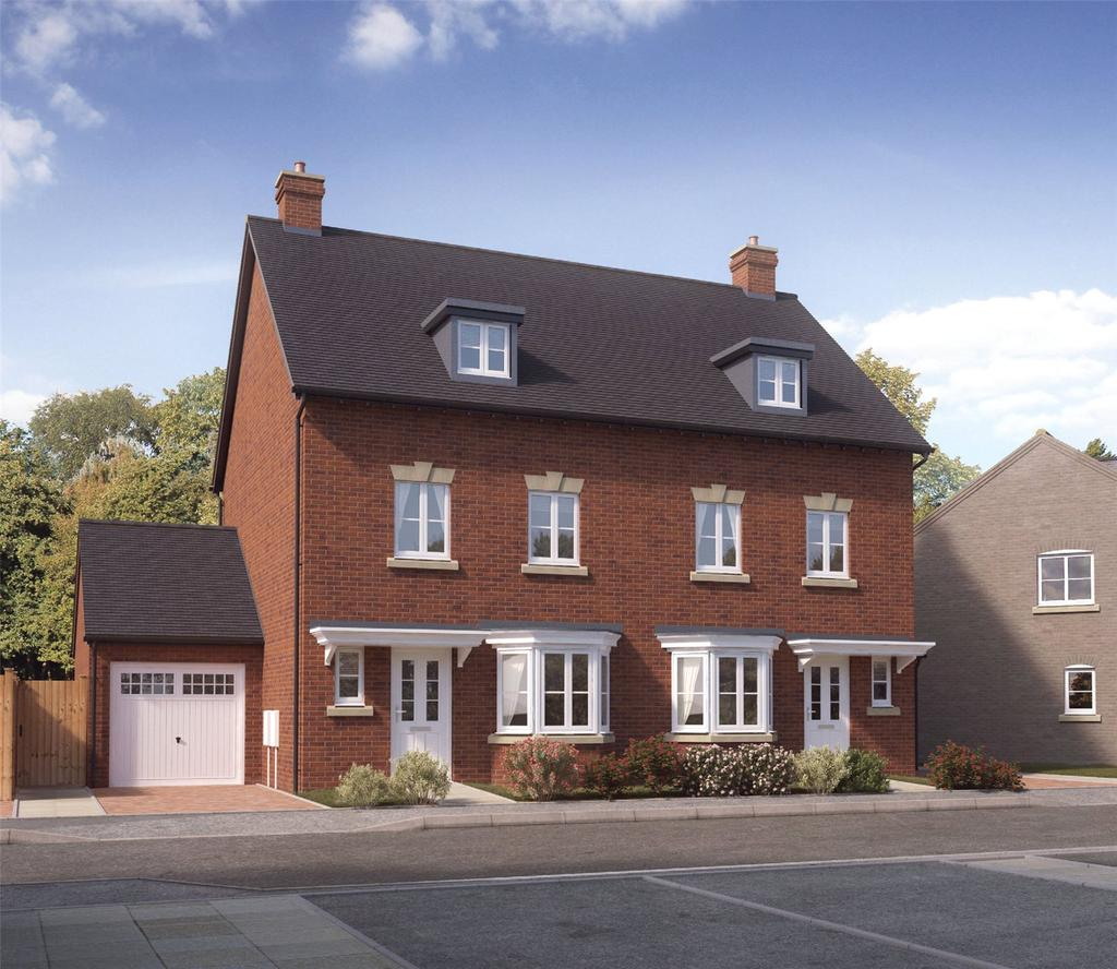 3 Bedrooms Terraced House for sale in Plot 28 Firs Park, Eversley Road, Norwich, NR6