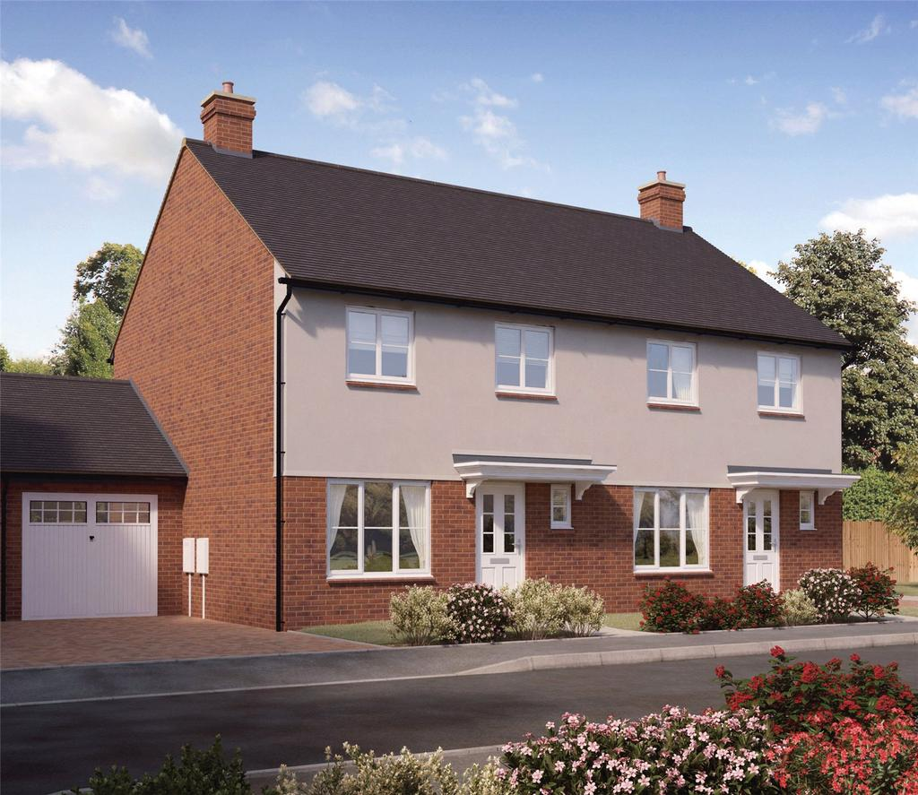 3 Bedrooms Semi Detached House for sale in Plot 48 Firs Park, Eversley Road, Norwich, NR6