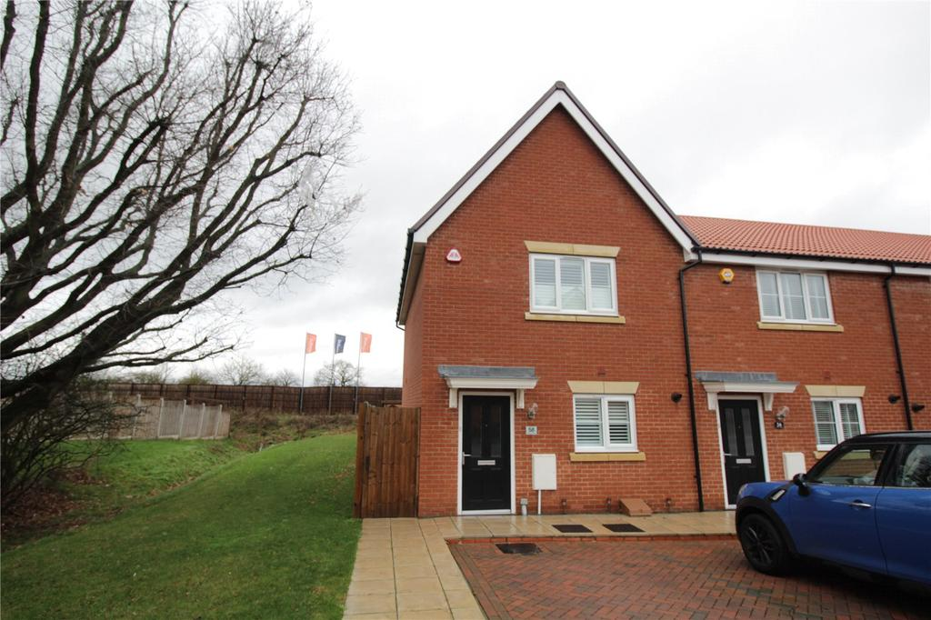 2 Bedrooms End Of Terrace House for sale in Warwick Crescent, Laindon, Essex, SS15