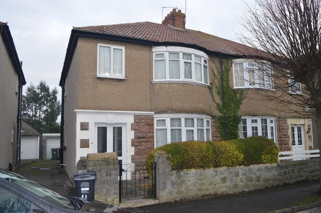 3 Bedrooms Semi Detached House for sale in Addicott Road, Weston-super-Mare